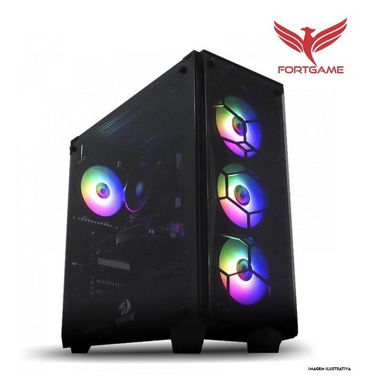 Pc Gamer Intel Core I3 3.6gh 9ª Ger 8gb 1tb Radeon Rx 550 4g