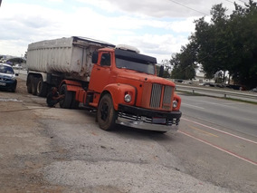 Scania 110 4x2 Ano 75 + Carreta Basculante Ano 97