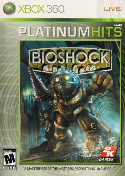 Jogo Bioshock 1 Xbox 360 Xbox One Mídia Física Frete Grátis