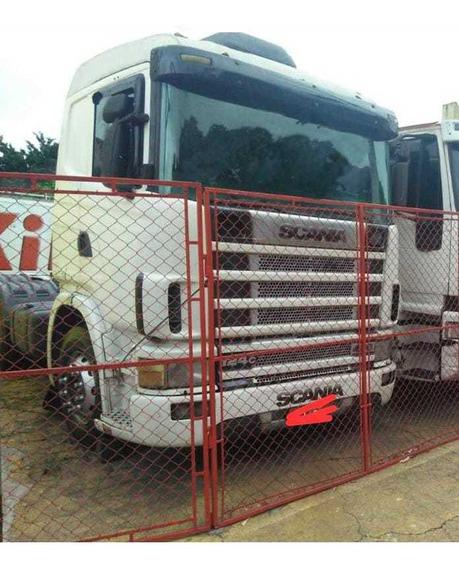 Scania 124 400 6x4 Bug Leve 2002