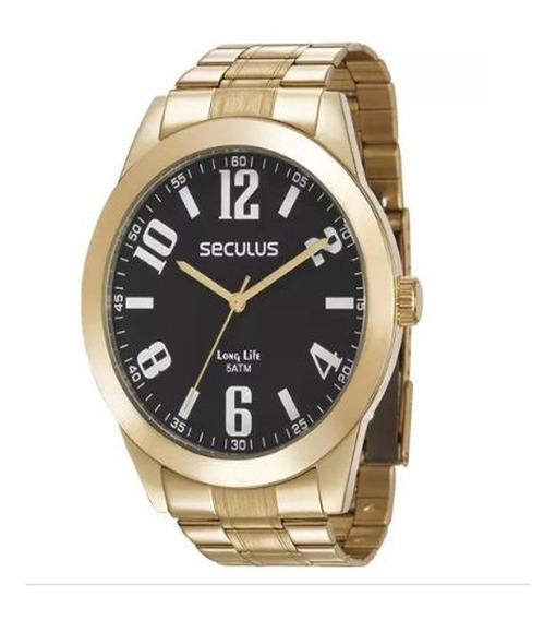 Relógio Seculus Masculino Long Life 28936gpsvda1