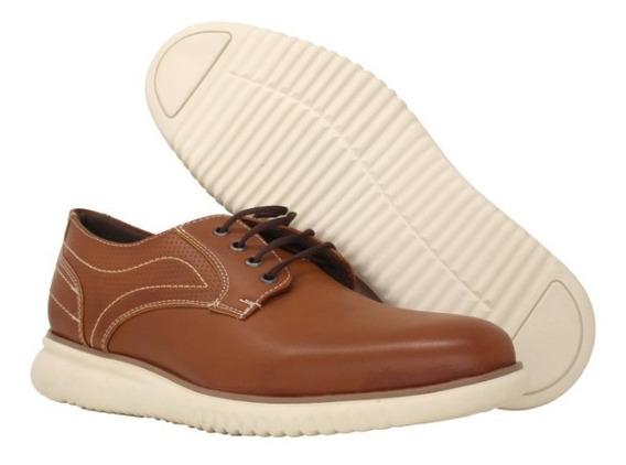 Zapatos De Caballero Casual , 6015 Camel (tan) Via Urbana