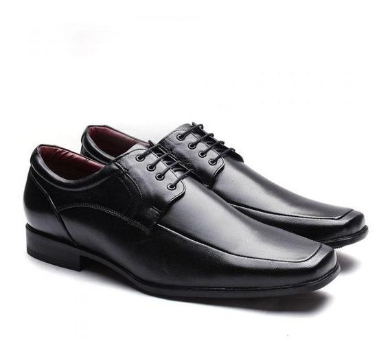 Sapato Social Masculino Manutt Couro De Carneiro 040