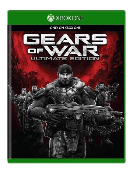 Gears Of War Ultimate Edition - Xbox One Mídia Física