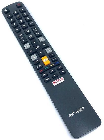 Controle Tv Semp Tcl Netflix Globo Play L32s4900s L40s4900s