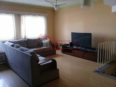 Boa Casa Triplex Em Condomínio Fechado Com 3qtos, Piscina, Churrasqueira E Duas Vagas Próximo Largo Do Bicão - Pacn30043