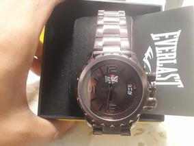 Relógio Everlast Marrom E498
