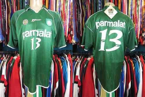 Palmeiras 2000 Camisa Titular Tamanho Gg Número 13.