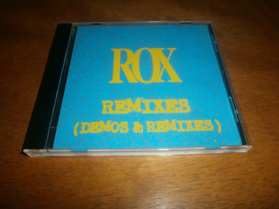 Roxette Rox Remixes ( Demos And Remixes) Cd