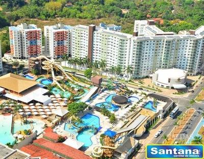03906 - Apartamento 1 Dorm. (1 Suíte), Turista I - Caldas Novas/go - 3906