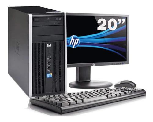 Imagem 1 de 6 de Pc Cpu Hp 6000 C2de8400 3.0 8gb Hd160gb + Monitor