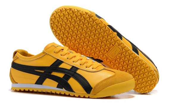 Tenis Onitsuka Tiger Mexico 66 Yellow/black Dl408.0490