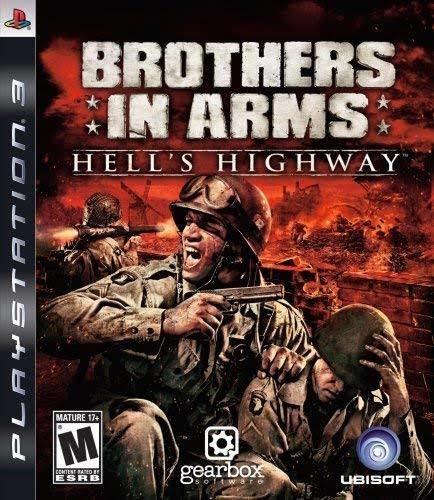 Jogo De Ps3 Brothers In Arms Em Mídia Digital
