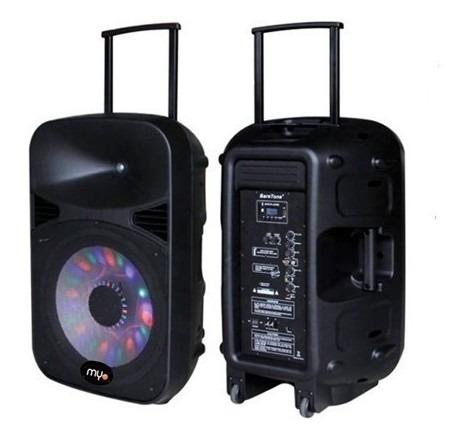 Bocina Myo 8  Portatil Con Bateria
