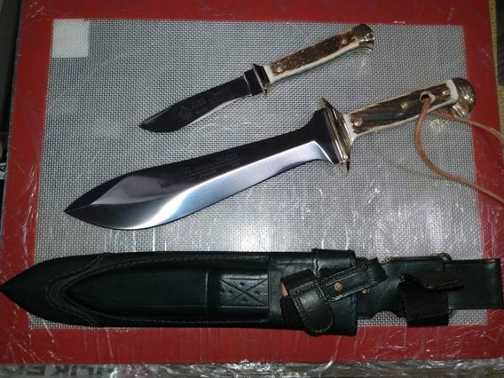 Cuchillo Puma Aleman Doble 2 En 1