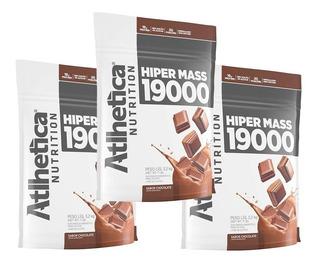 Combo 3x Hiper Mass 19000 3,2kg (9,6kg) -