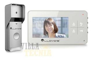 Video Interfon Monitor Color 3.5 In Visión Nocturna Altavoz