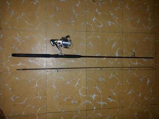 Caña De Pescar Shakespeare Con Carrete Shimano 4000 Rb Cx