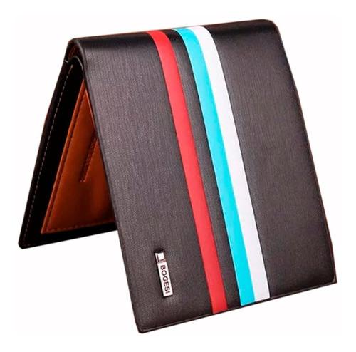 Billetera Para Hombre Formal  - Exclusiva Multicolor V.2