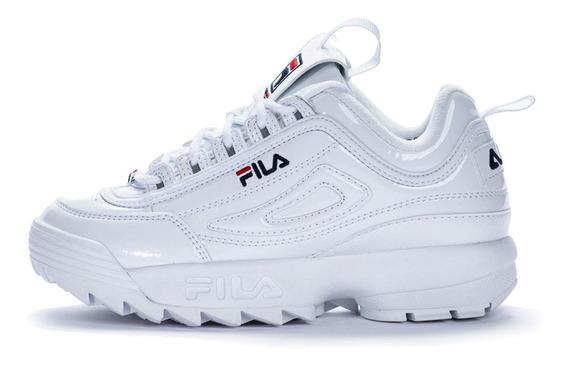 Zapatillas Fila Disruptor Ii Premium Patent
