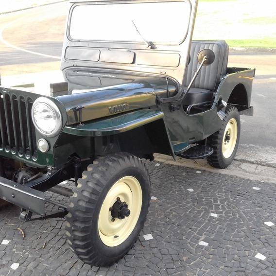 Jeep Willys 1948 Original Em Bom Estado