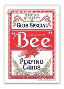 Baralho Bee Club Special Vermelho - Poker Size