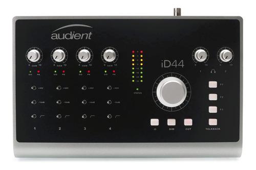 Interfaz De Grabación Placa De Sonido Ext Usb Audient Id44