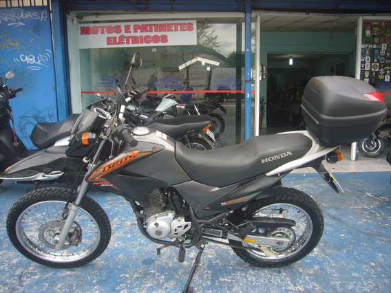 Honda Nxr 150 Bros Esdi Preta R$ 7.999 Troca Financia