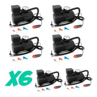 Pack 6 Compresores Aire Portatil 12v 300 Psi