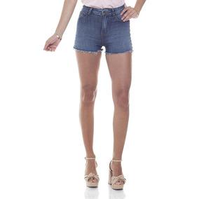 Shorts Feminino Pin Up Escuro Denim Zero-dz6267