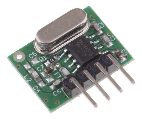 Modelo Wl102-341 Do Transmissor Módulo 433mhz Do Rf Para Si