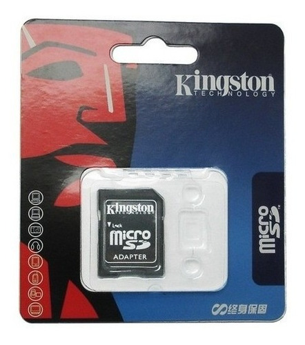 25 Adaptadores Sd Kingston Para Micro Sdhc Lê Até 32gb