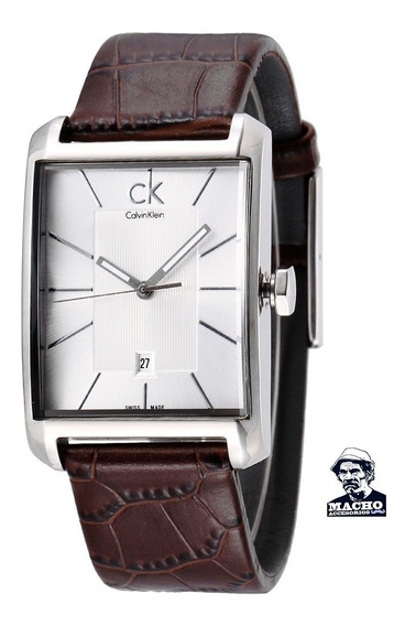 Reloj Calvin Klein Window K2m21126 Suizo En Stock Original