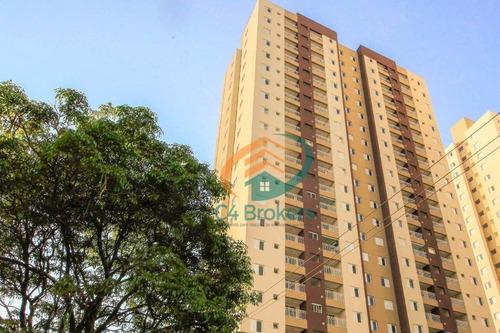 Imagem 1 de 30 de Apartamento Residencial À Venda, Vila Augusta, Guarulhos. - Ap0111