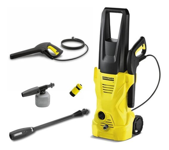 Lavadora De Alta Pressão K2 220v + Aplicador De Detergente -