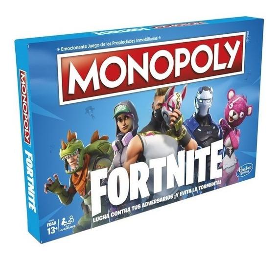 Monopoly Fortnite Original Hasbro - En Español / Diverti
