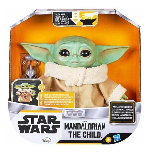 Baby Yoda The Child Animatronic, Mandalorian Hasbro, Dculto
