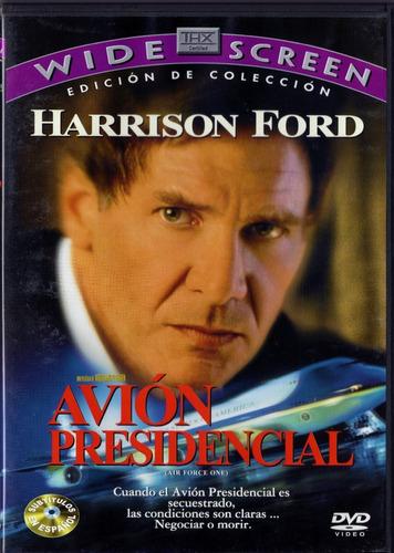 Avion Presidencial Harrison Ford Pelicula Dvd
