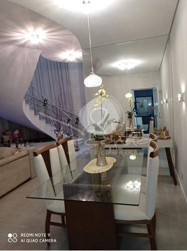 Imagem 1 de 26 de Casa Para Venda No Residencial Villa Do Sol Em Valinhos - Imobiliária Em Campinas - Ca01063 - 69588922