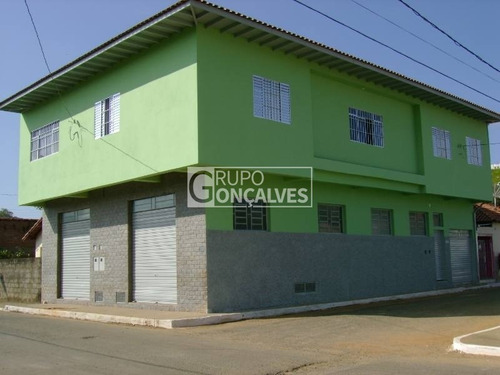 Imagem 1 de 7 de Prédio Comercial Para Venda No Bairro Careaçú, 2 Salões E 2 Apartamentos Com 2 Dorm, 3 Vagas, 350 M - Código: 4139