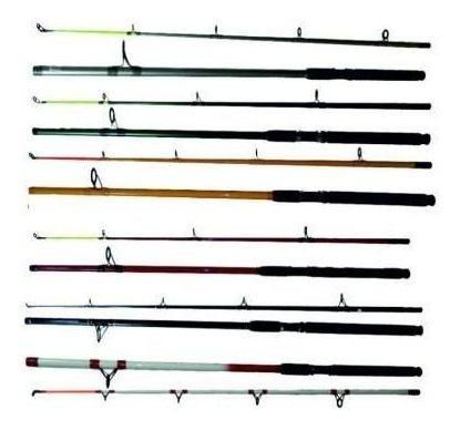 Caña Match Rod 3.00m Fibra De Vidrio Hueca Plomo 200grs