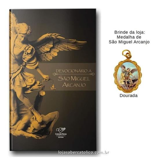Livro Devocionário A São Miguel Arcanjo Com Medalha