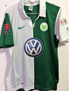 Camisa Wolfsburg 2007/08 Usada Jogo Marcelinho Paraíba
