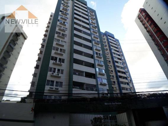 Apartamento Com 2 Quartos Para Alugar, 82 M² Por R$ 2.284/mês - Boa Viagem - Recife/pe - Ap0652