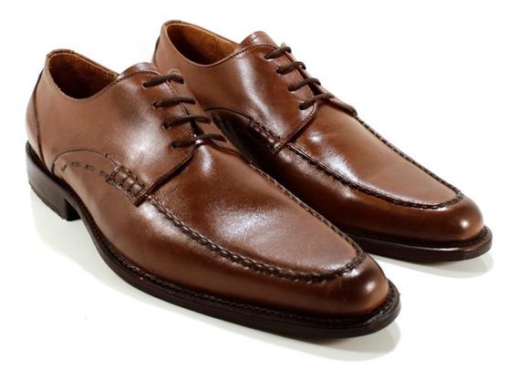 Zapato Hombre Cuero Color Maldo Diseño Lorenzo By Ghilardi