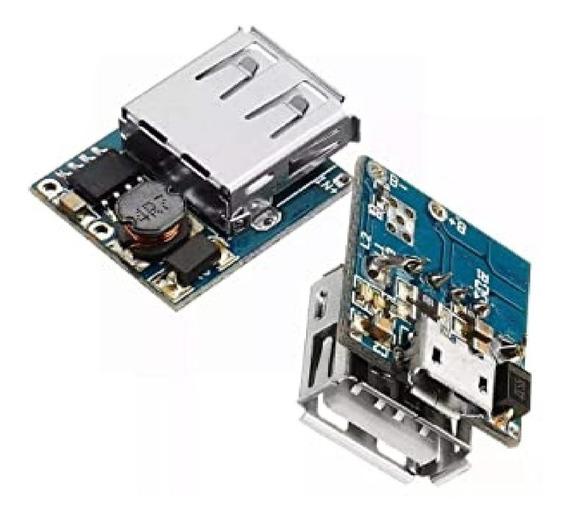 Cargador Bateria Litio Ion Step Up Elevador 5v Powerbank Sgk