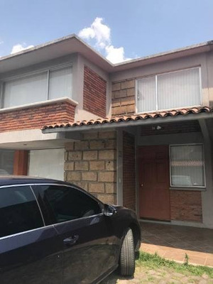 Hermosa Casa En Renta En Fraccionamiento La Gavia I En Metepec