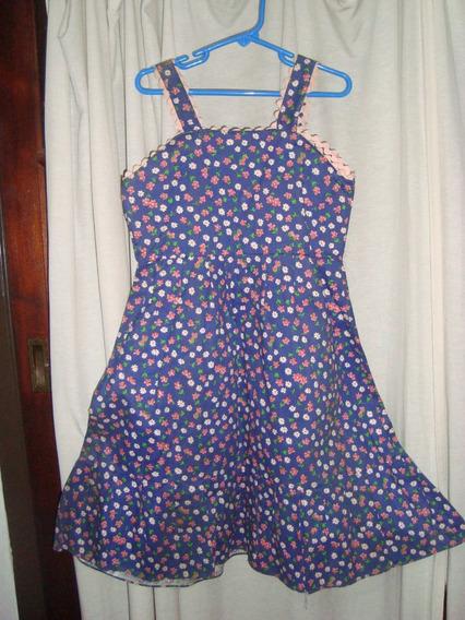 Retro Vintage Años 60 Original Vestido De Gabardina Talle 6