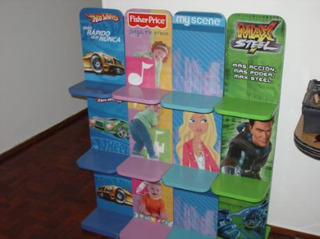 Fisher Price, Mueble Tematico Para Chicos Y Chicas