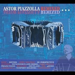 Astor Piazzolla - Remixed - Disco Compacto - Redandblue